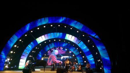 Matthew Lien, live in concert, in Dongguan, China